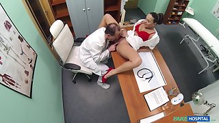 Disconsolate weaken loves banging his nurse when they have time