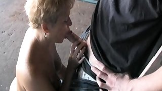Mature group anal outdoor Mature sex