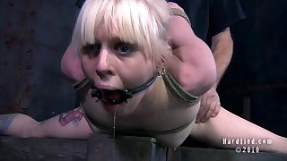 Painful agony and bore poking thither toys and a dick for Sarah Jane
