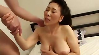 Japanese Asian Mature Sex Fun With Saleable Guy