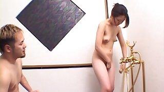 Wild fucking by means of a nuru massage with kinky qualified Yuriko Takaoka