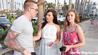 Lena Paul Increased by Whitney Wright Share Boyfriend Nathan Red's Cock