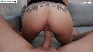 Hot Unseeable Brunette Deepthroats and Hardcore Sex to Cumshot POV