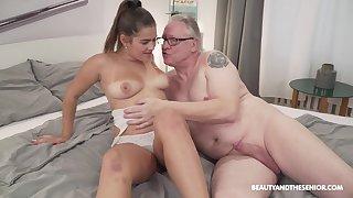 Serina Gomez finds a way up restock an grey man