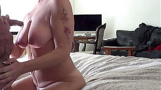 Friend is out be required of town, Join in matrimony stops by and I cum and Piss upstairs Her