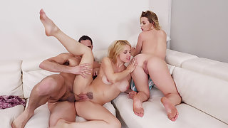 Mommy here a threesome