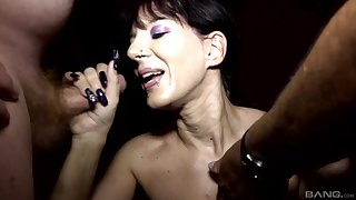 Samy Saint and Natalie Hot entreat their followers for a memorable blowjob