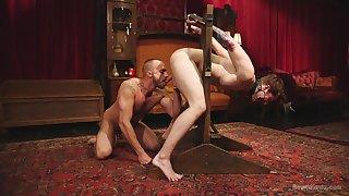 Discriminating careless anal in BDSM maledom XXX cam scenes